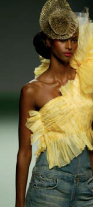Jesus Del Pozo / Hessian metal / Collection Spring Summer 2004