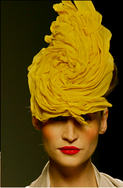 Jesus Del Pozo / yellow / Collection Spring Summer 2004
